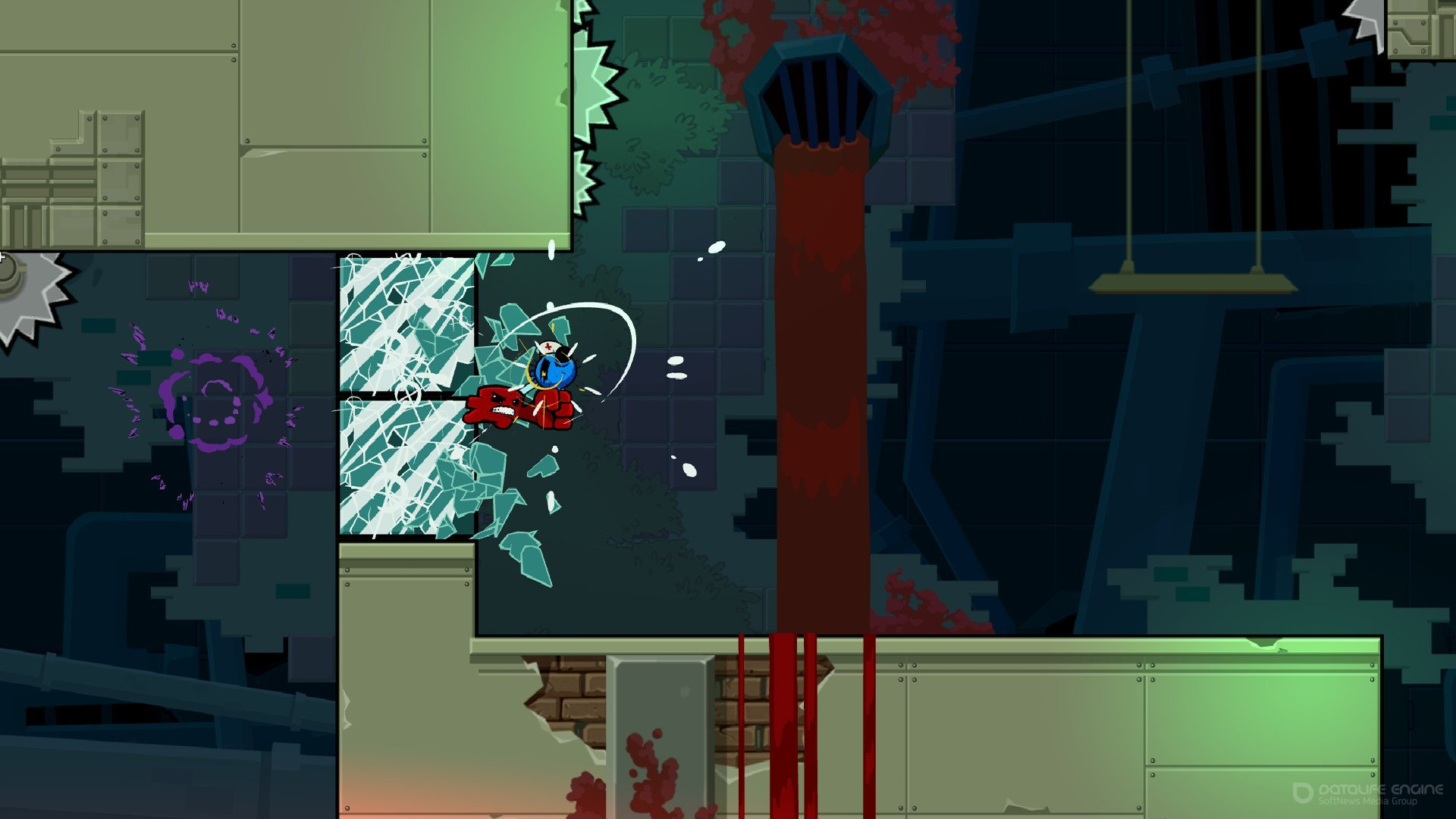 Скриншот к игре Super Meat Boy Forever [Portable] (2020) скачать торрент Лицензия