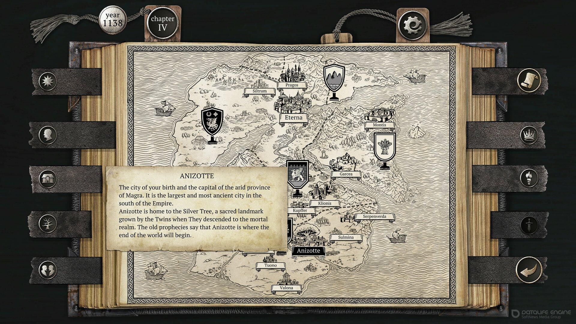 Скриншот к игре The Life and Suffering of Sir Brante [GOG] (2021) скачать торрент Лицензия