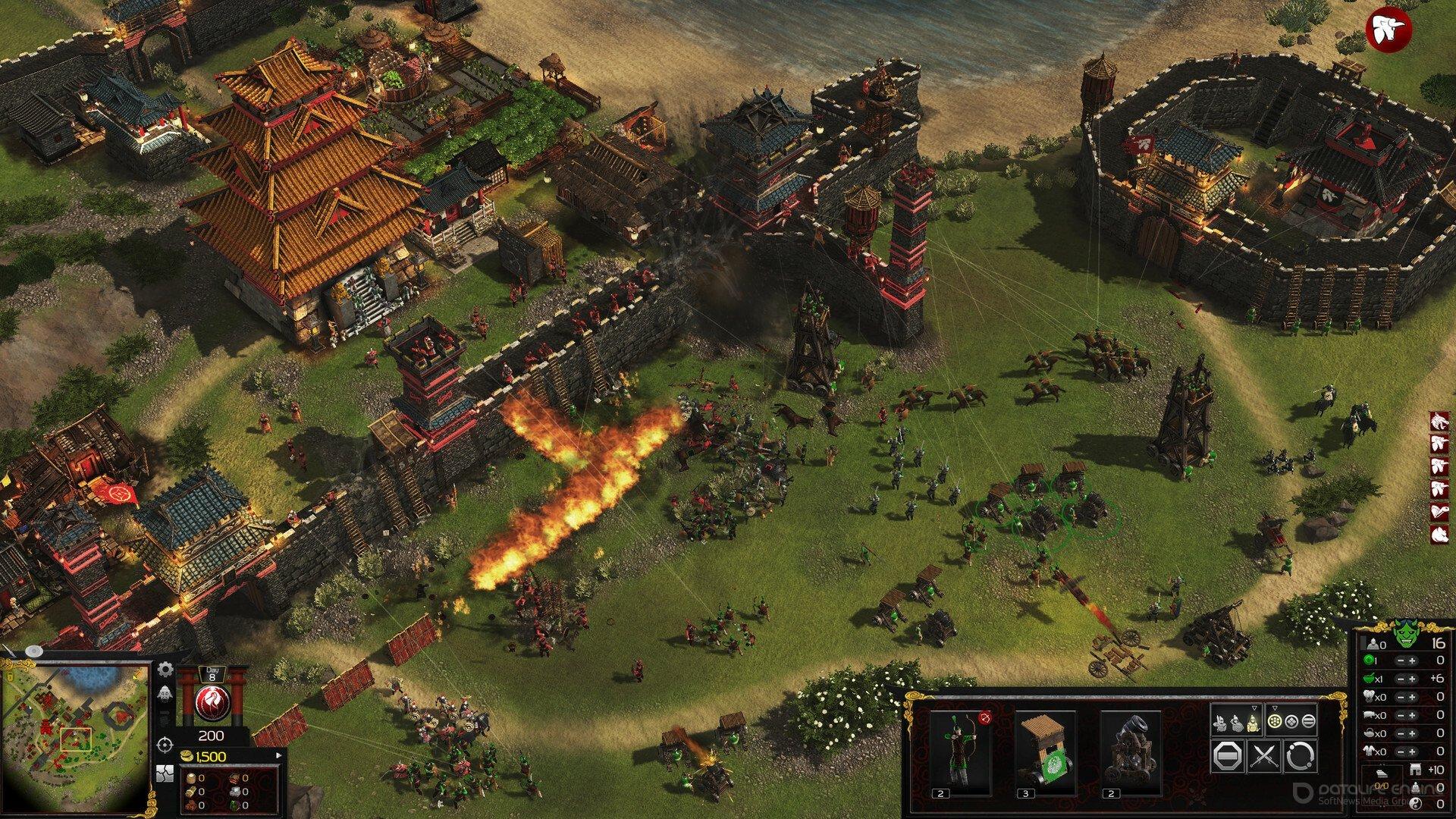 Скриншот к игре Stronghold: Warlords v.1.0.19584.7 [GOG] (2021) скачать торрент Лицензия