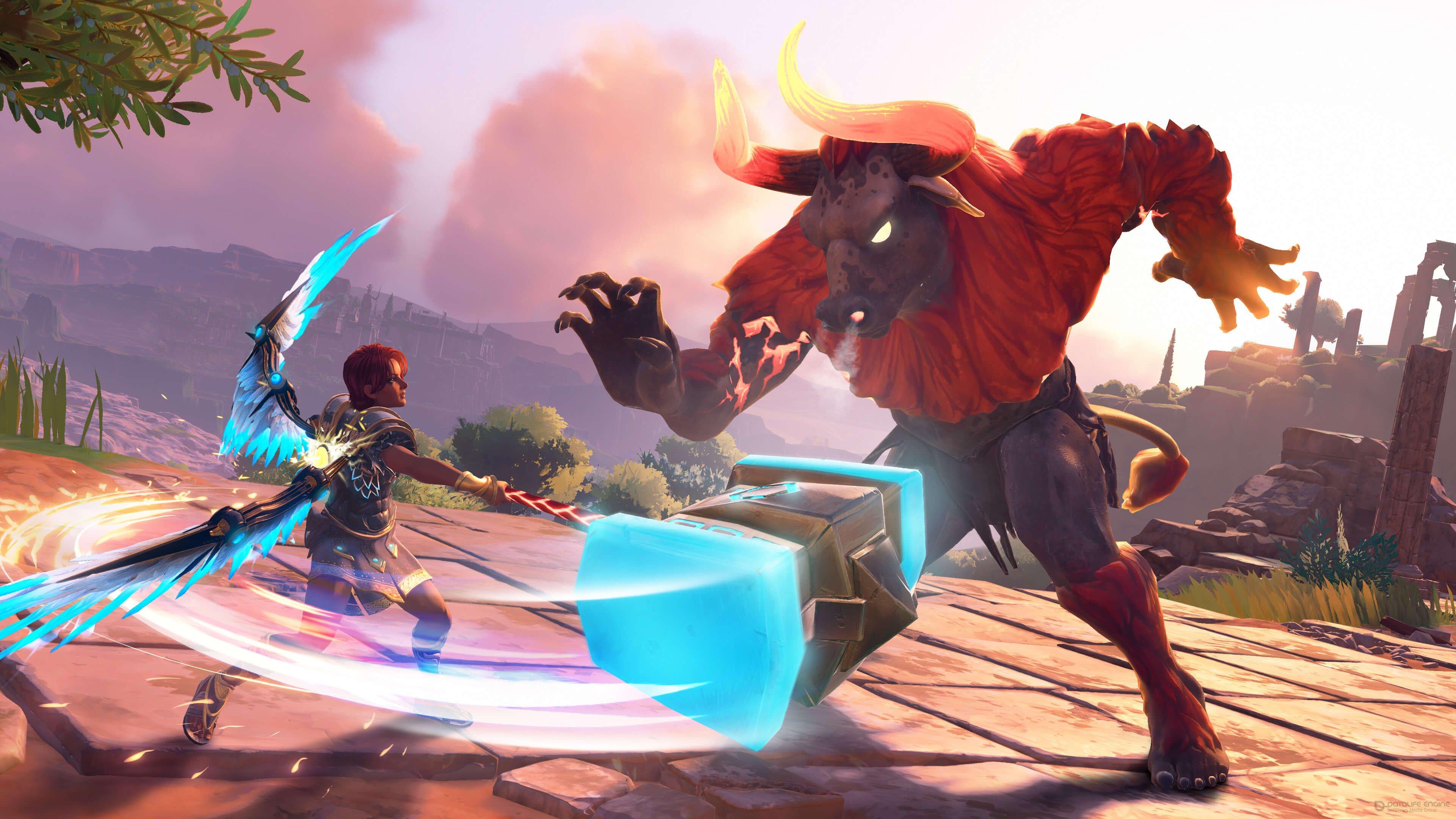 Скриншот к игре Immortals Fenyx Rising (2021) RePack от R.G. Механики