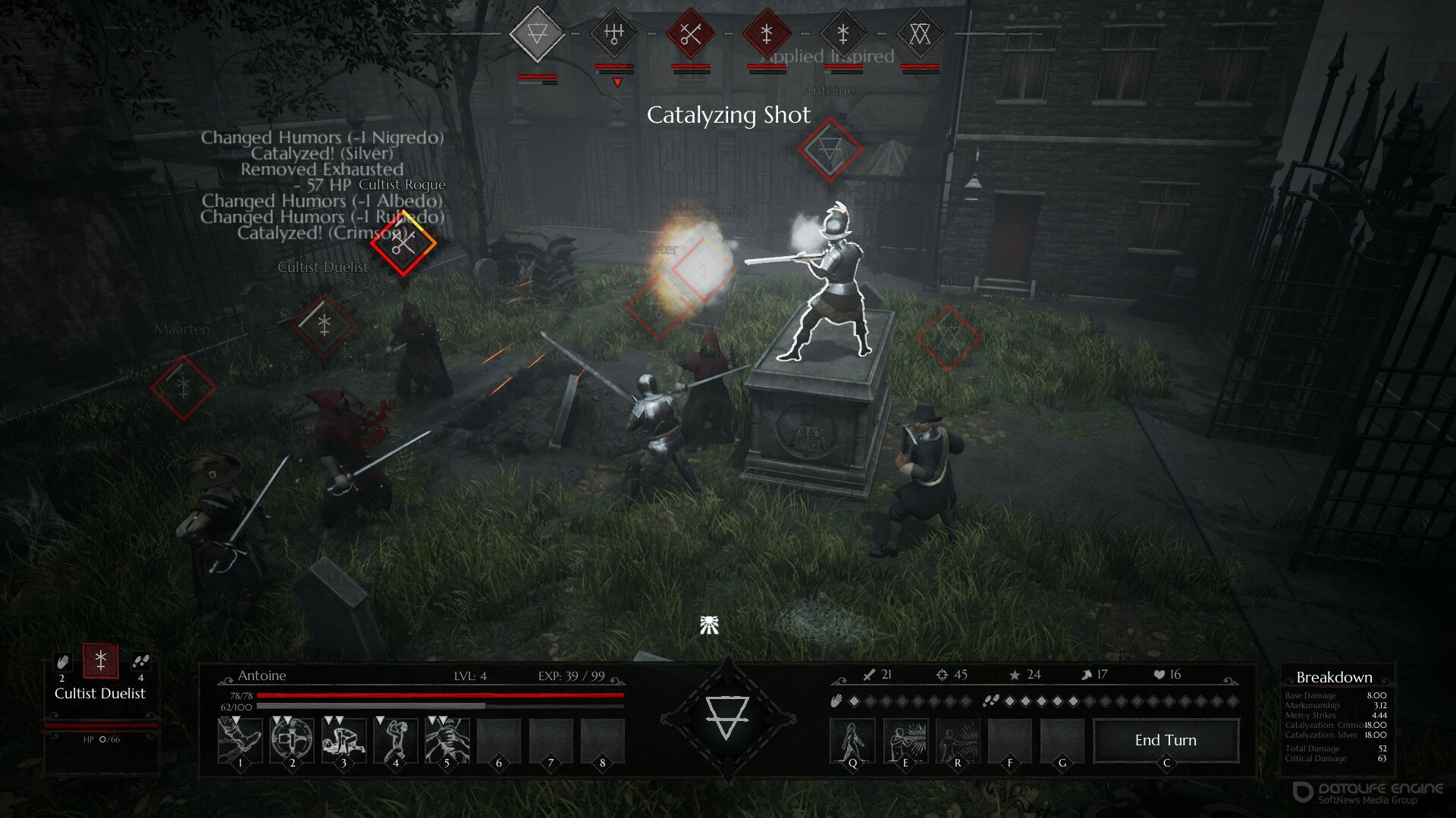 Скриншот к игре Black Legend v. 1.0.7 [GOG] (2021) скачать торрент Лицензия