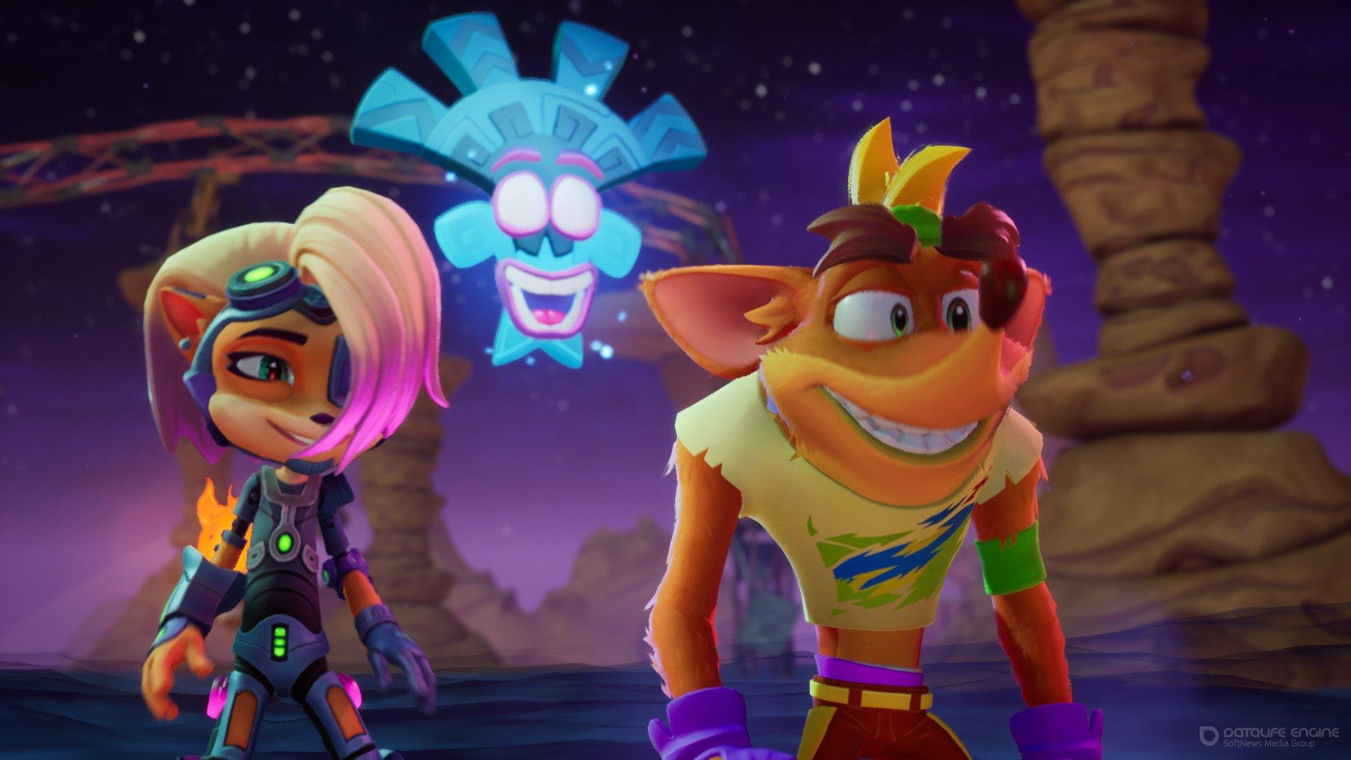 Скриншот к игре Crash Bandicoot 4: It's About Time (2021) RePack от R.G. Механики