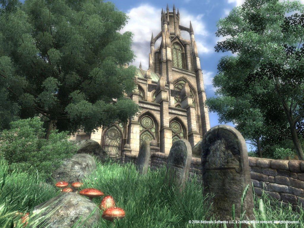 Скриншот к игре The Elder Scrolls IV: Oblivion Game of the Year Edition Deluxe v.1.2.0416 CS (12788) [GOG] (2007) скачать торрент Лицензия