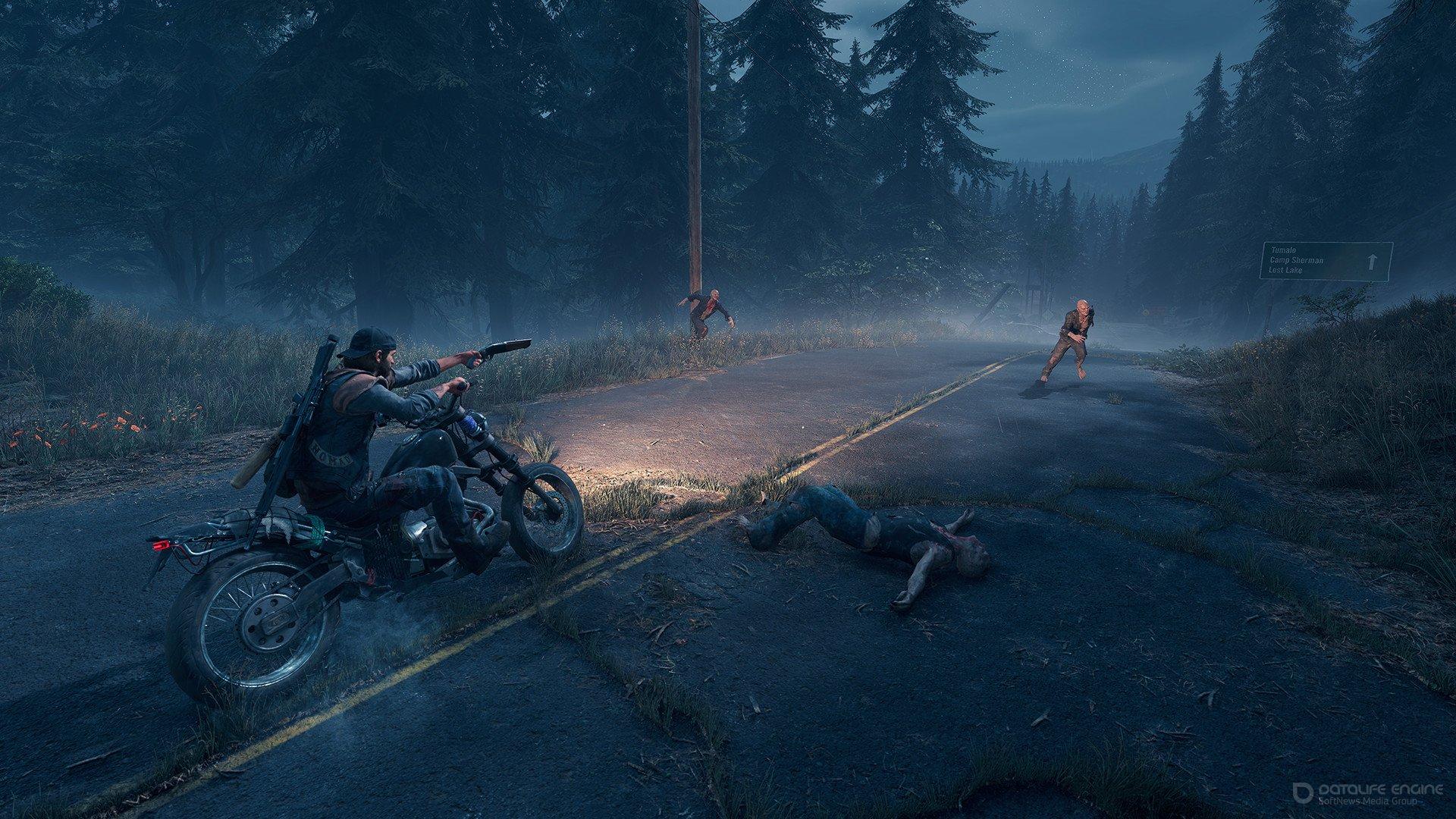 Скриншот к игре Days Gone (2019-2021) PC | RePack от R.G. Механики